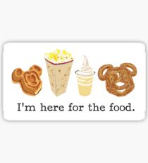 Here for the food. Sticker