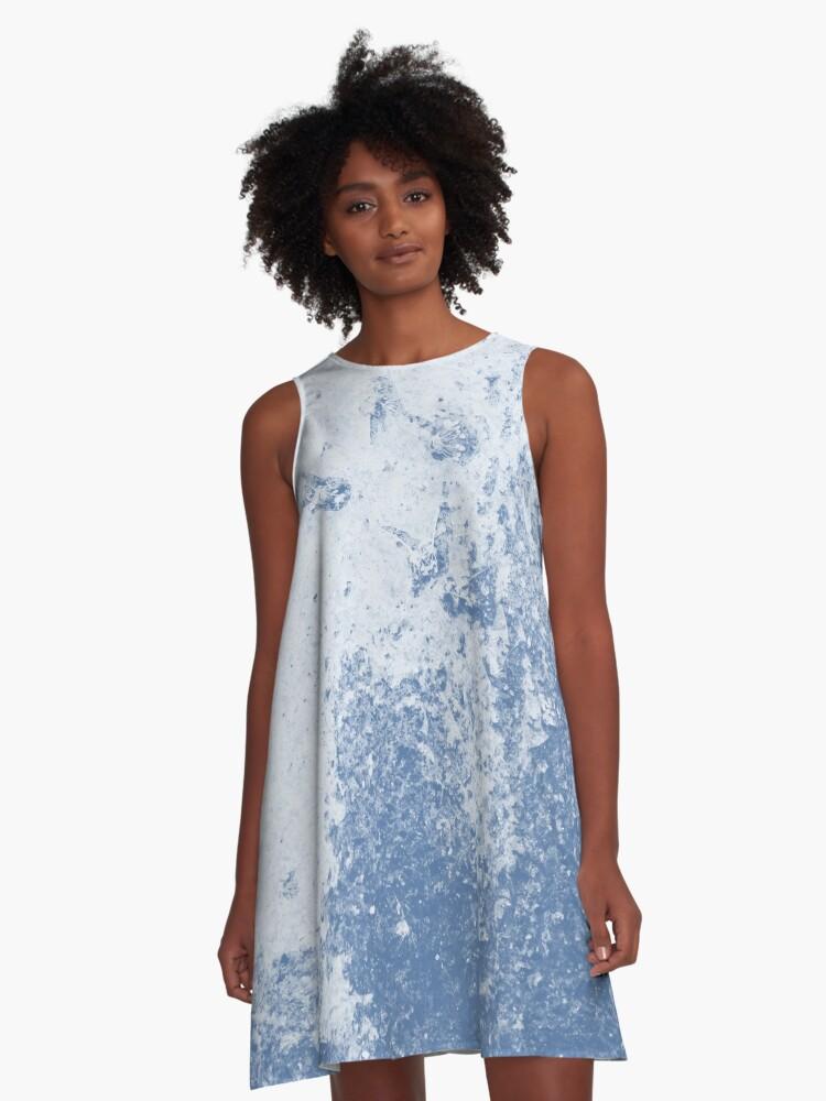 Earth Sweat Design (Riverside Color) A-Line Dress Front