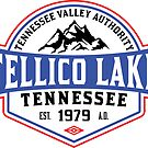 TELLICO LAKE TENNESSEE BOATING BOAT TENNESSEE VALLEY AUTHORITY TVA CAMPING HIKING by MyHandmadeSigns