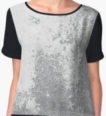 Earth Sweat Design (Sharkskin Color) Women's Chiffon Top
