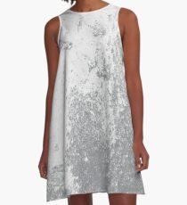Earth Sweat Design (Sharkskin Color) A-Line Dress