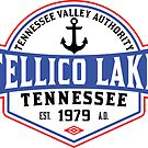 TELLICO LAKE TENNESSEE BOATING BOAT TENNESSEE VALLEY AUTHORITY TVA CAMPING HIKING 2 by MyHandmadeSigns