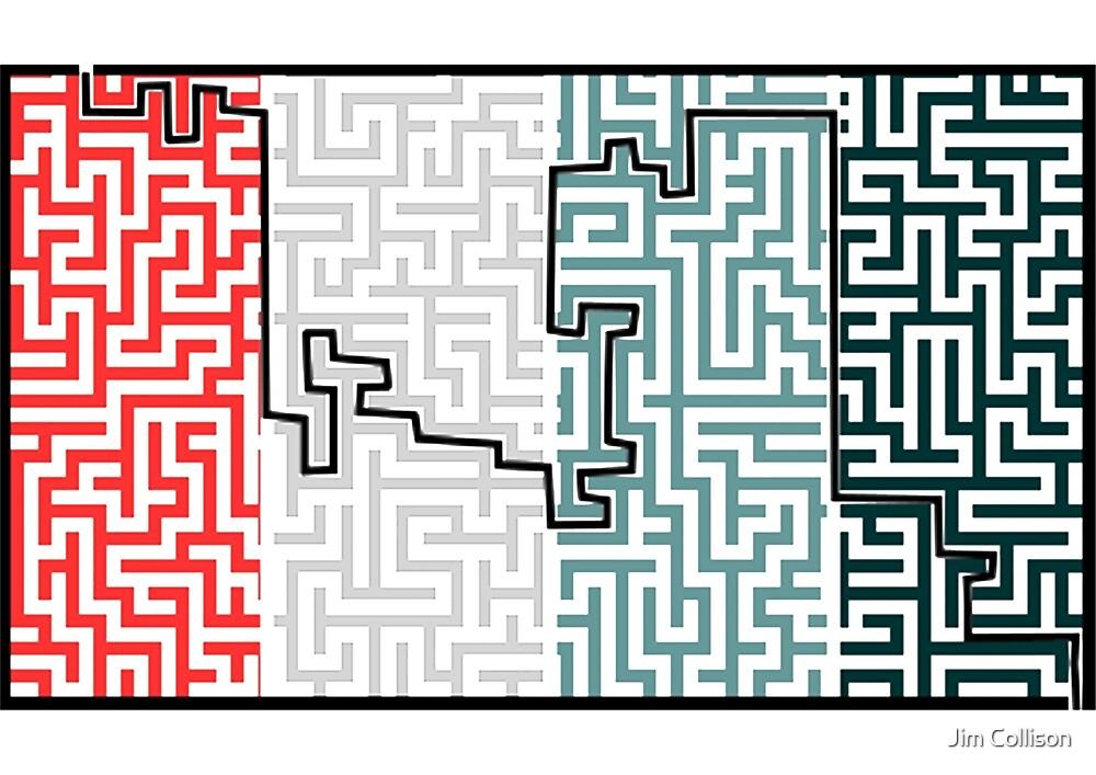 Maze by Jim Collison