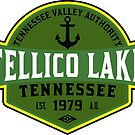 TELLICO LAKE TENNESSEE BOATING BOAT TENNESSEE VALLEY AUTHORITY TVA CAMPING HIKING 3 by MyHandmadeSigns