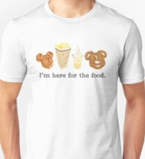 Here for the food. T-Shirt