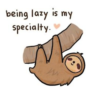 Sloth lazy by SuperPhanNacho