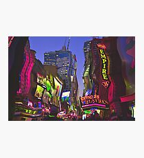 Melting in Times Square Photographic Print