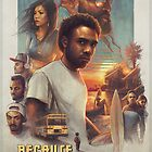 Childish Gambino Movie Poster by Versed