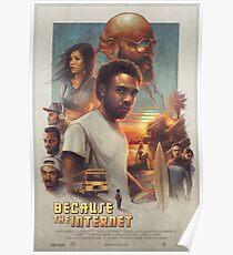 Childish Gambino Movie Poster Poster