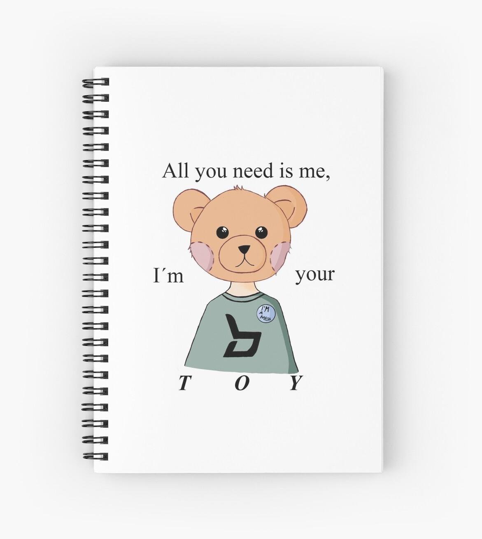 Block B (BBC) Kpop Toy Lyrics inspired Teddy Bear by j-inwook