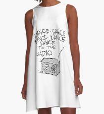 Dance to the radio A-Line Dress