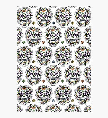 sugar skull hero Photographic Print