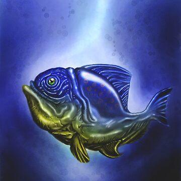 Deep Blue by hananack