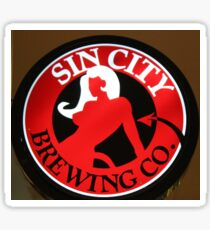 Sin City Brewing Sticker