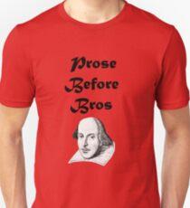 Prose Before Bros Slim Fit T-Shirt