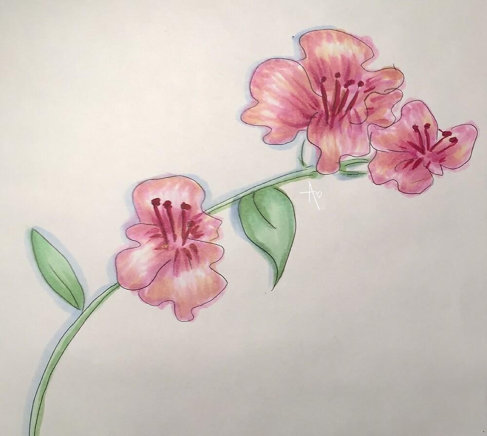 Floral Stem by GeniusCreations