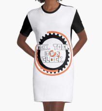 Catching Fire Hunger Games Clock Graphic T-Shirt Dress