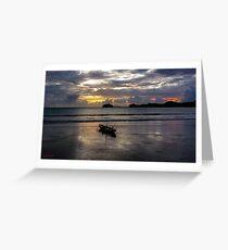 Beach Launch, Eimeo QLD Greeting Card