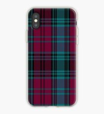 01550 Alma College Tartan iPhone Case