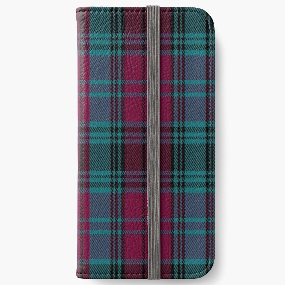 01550 Alma College Tartan iPhone Wallet
