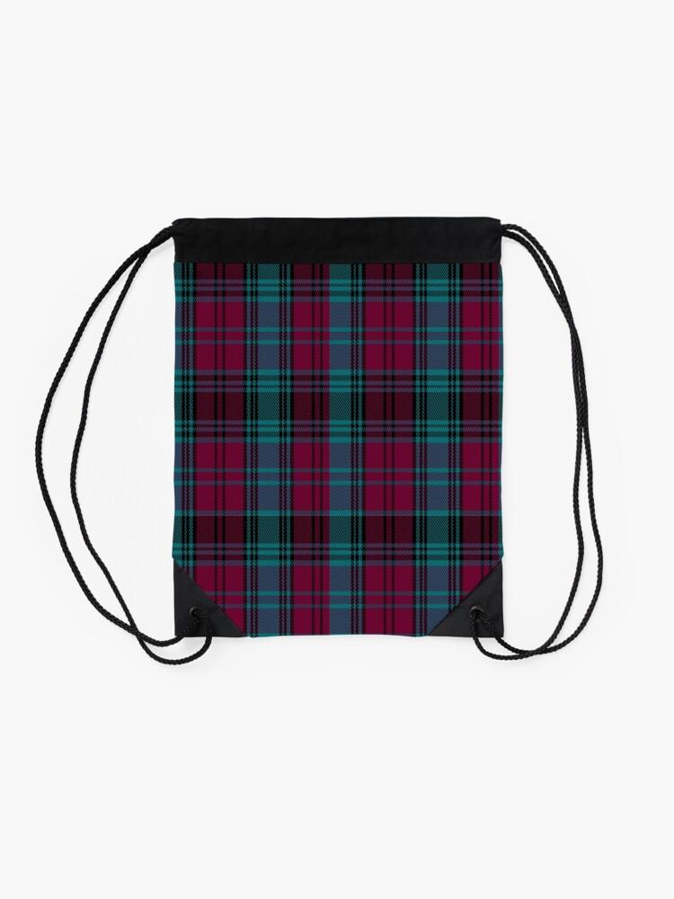 Alternate view of 01550 Alma College Tartan Drawstring Bag