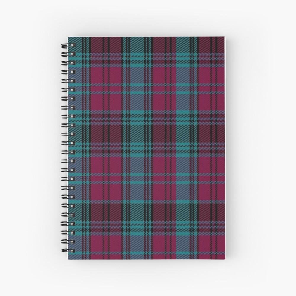 01550 Alma College Tartan Spiral Notebook