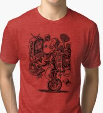 Combination Gizmo Machine Tri-blend T-Shirt