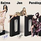 Three movie beauties by Dulcina
