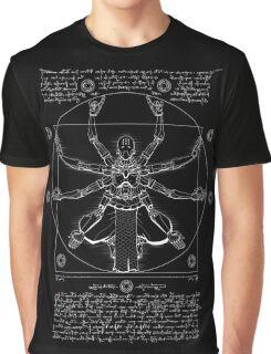 Vitruvian Omnic - white version Graphic T-Shirt