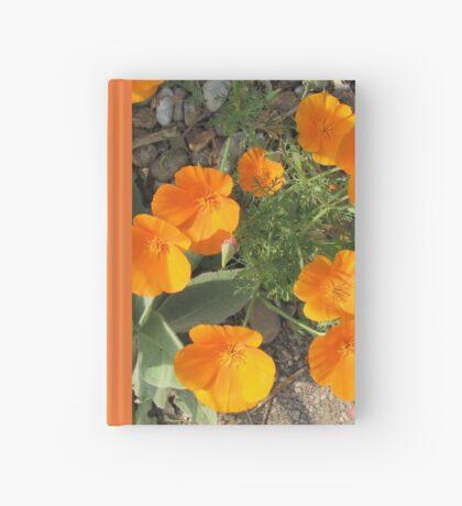 Färbe mich orange! California Poppies Notizbuch