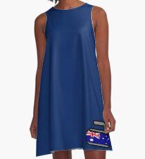 Australia Rocks! - Curling Rockers A-Line Dress