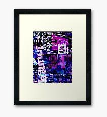 Lounge art Framed Print