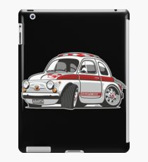 Fiat Abarth 595 caricature iPad Case/Skin