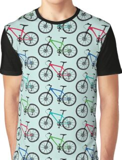 mountain bike multi   Graphic T-Shirt