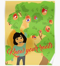 Know Your Roots Poster