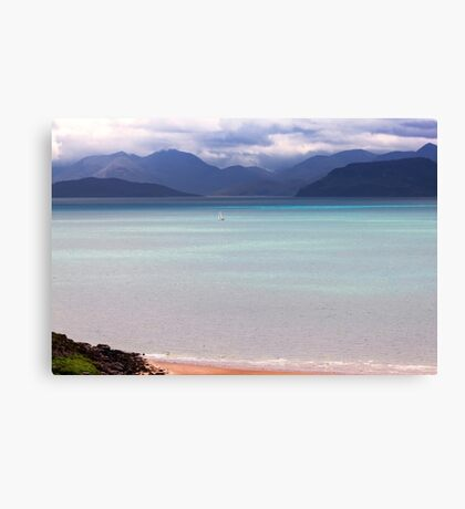 Isle of Skye from Applecross Peninsula Canvas Print