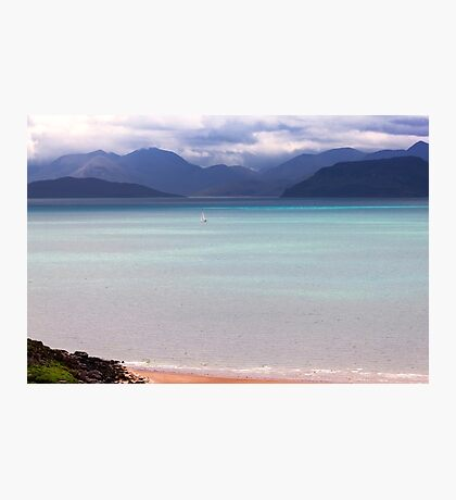 Isle of Skye from Applecross Peninsula Photographic Print