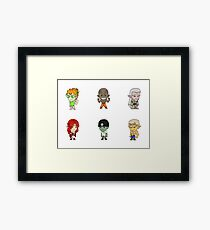 Mystic Stickers 03 Framed Print
