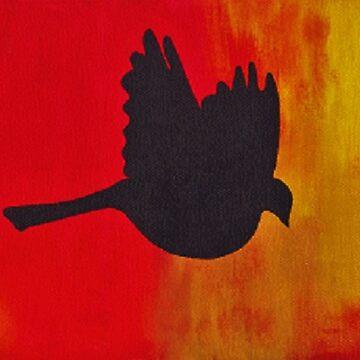 Bird On Fire by Fregs