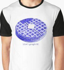 Blue Waffle Graphic T-Shirt