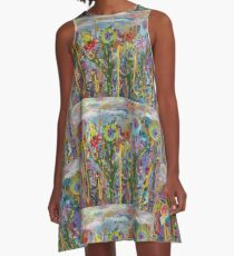 When Deserts Bloom by Lisa Victoria Locke A-Line Dress