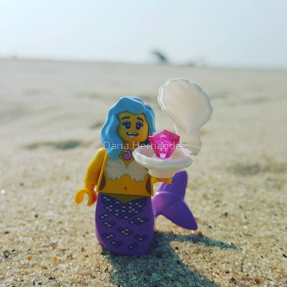 Lego Movie Mermaid at the Beach by MissNapalm