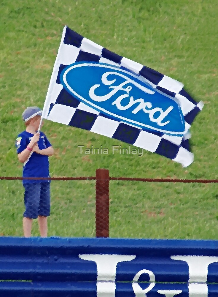 GO FORD! by Tainia Finlay