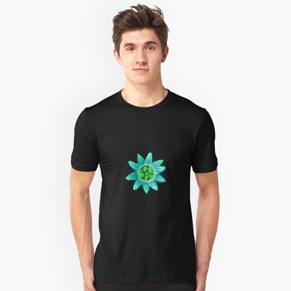 Passion in Green Unisex T-Shirt Front