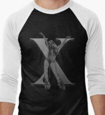 Stripped X Men's Baseball ¾ T-Shirt
