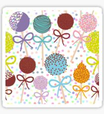Yummy cakepops Sticker
