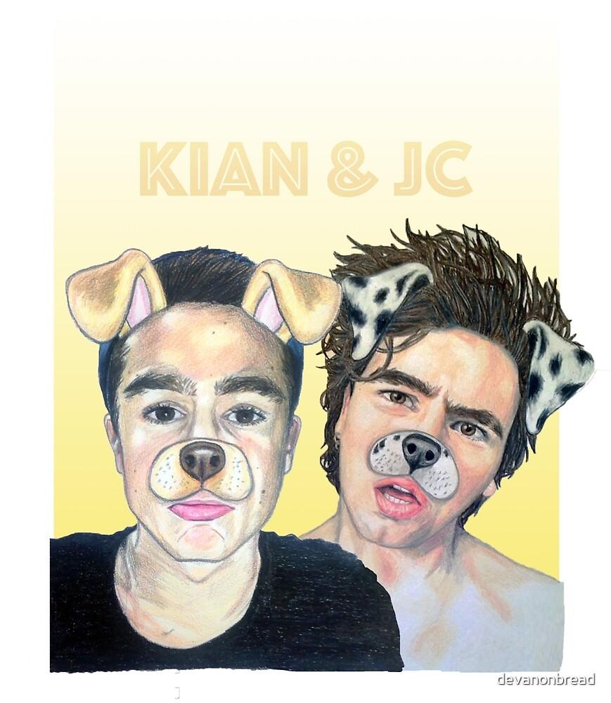 Kian and Jc by devanonbread
