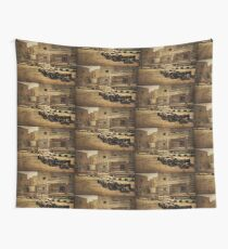 Sheep Grazing in Giza, Egypt Wall Tapestry