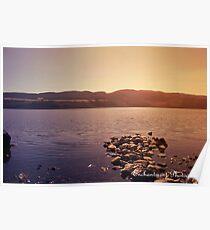 loch ness lake, Scotland Poster