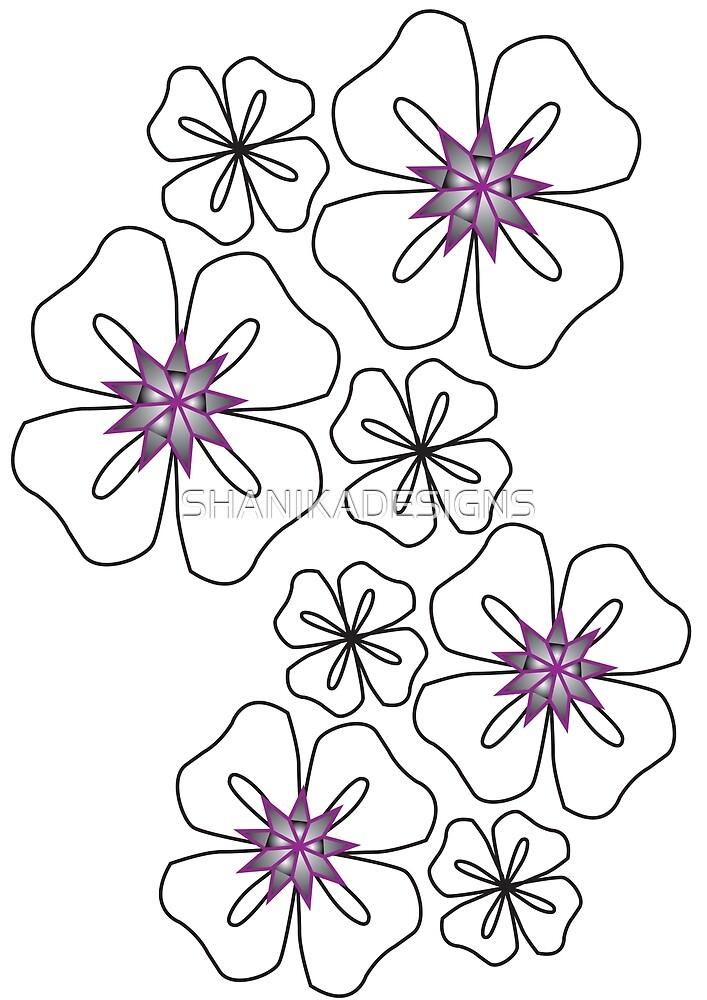 Floral  by SHANIKADESIGNS